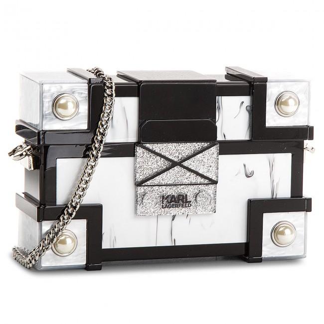 Handbag KARL LAGERFELD - 81KW3096 Black