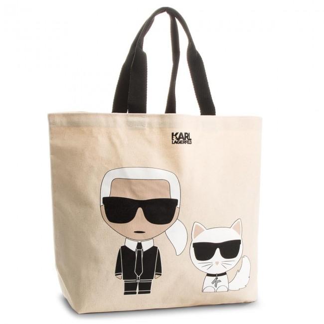 Handbag KARL LAGERFELD - 81KW3099 White