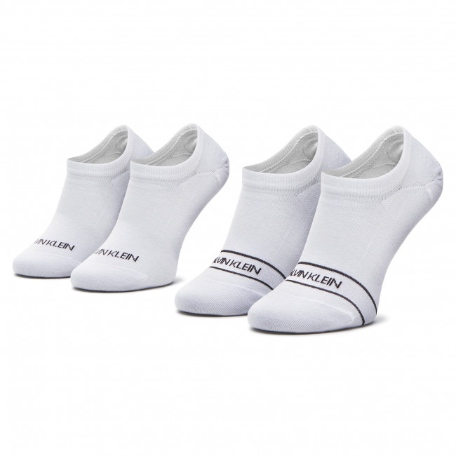 2 Pairs of Women's Footsies CALVIN KLEIN - 100001898 White 002