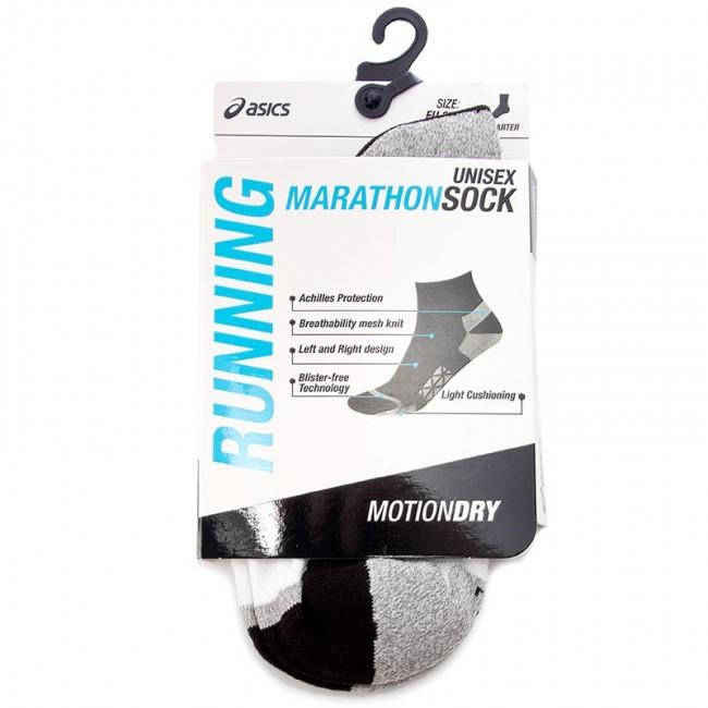 Unisex Low Socks ASICS Marathon Sock 130890BM 35 38 Real White 0001