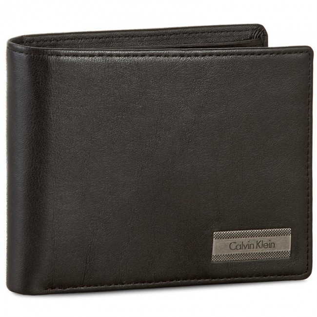 Large Men's Wallet CALVIN KLEIN - Coblane 5CC+Coin K50K502186 001