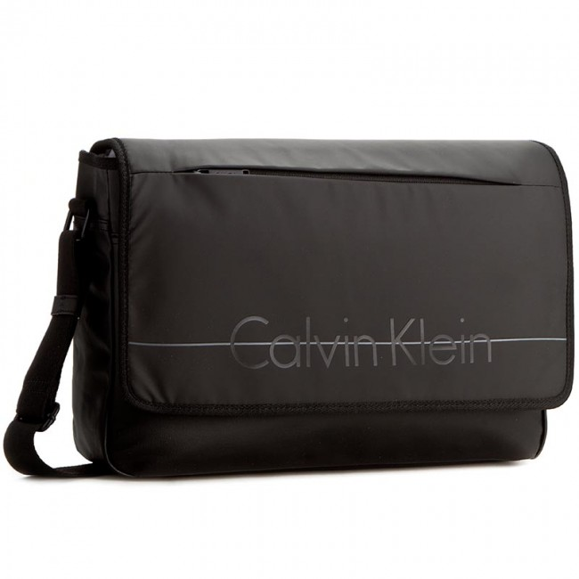 Laptop Bag CALVIN KLEIN - Logan 2.0 Messenger With Flap K50K502040 001