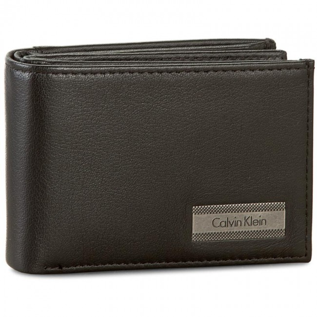 Small Men's Wallet CALVIN KLEIN - Coblane Mini 6Cc Coin K50K502225 001
