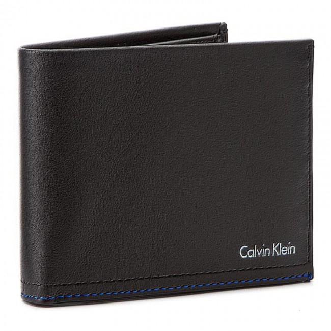 Large Men's Wallet CALVIN KLEIN - No3L 10Cc+Coin+Pas K50K502380 001