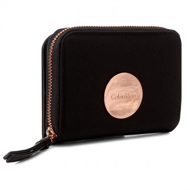 Large Women's Wallet CALVIN KLEIN - Ed1th Medium Ziparound With Flap K60K602639 001