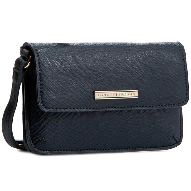 Handbag TOMMY HILFIGER - Honey Mini Crossover AW0AW01104 Midnight 001