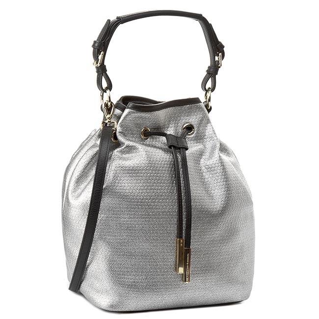 Tasche TOMMY HILFIGER Th Bucket Metallic AW0AW01711 Metallic Silver 021