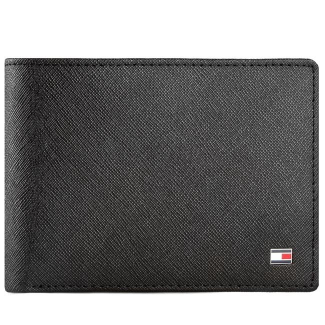 Large Men's Wallet TOMMY HILFIGER - Brian 2 Cc And Coin Pocket AM0AM01163 Black 902