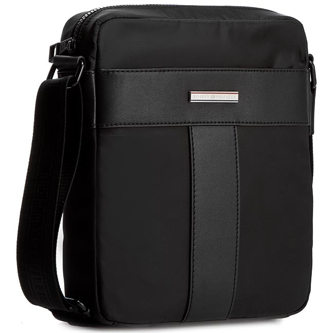 Messenger Bag TOMMY HILFIGER - Th Story Slim Reporter AM0AM000907 Black 002