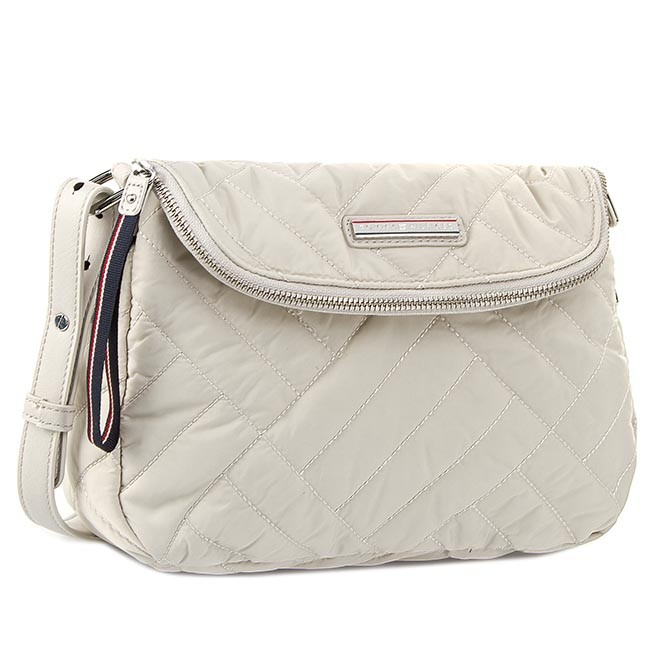 Handbag TOMMY HILFIGER - Neena Crossover AW0AW01387 Pumice Stone 013