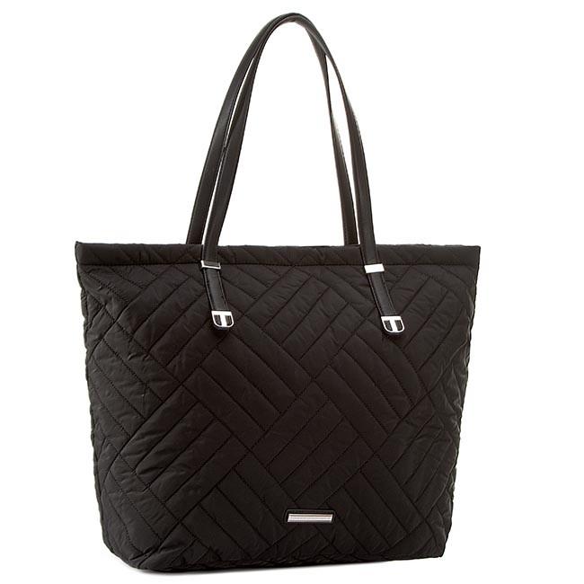 Handbag TOMMY HILFIGER - Neena Tote AW0AW01389 Black 002