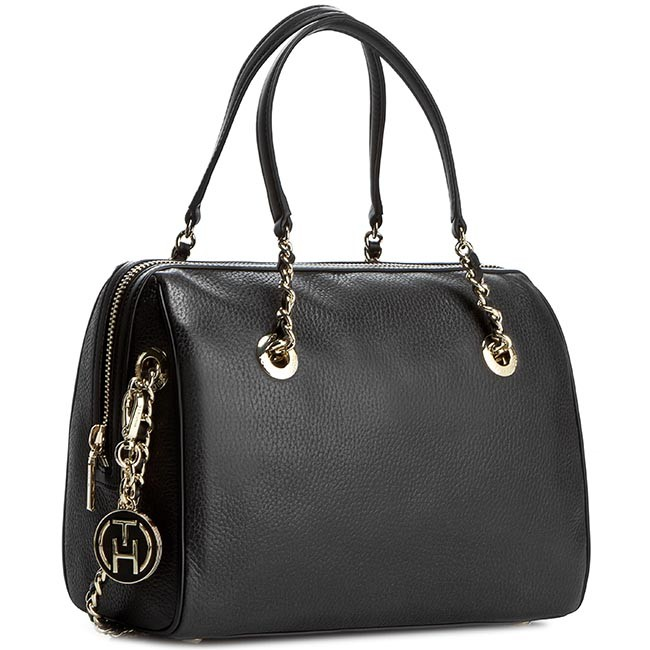 Handbag TOMMY HILFIGER - Party Time Duffle AW0AW01817 Black 002