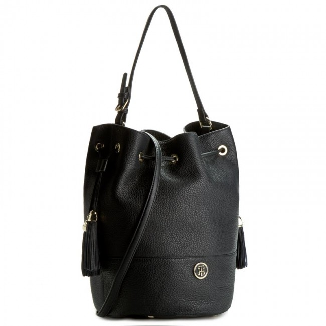 Handbag TOMMY HILFIGER - Tommy Bucket Pebble AW0AW03013 902