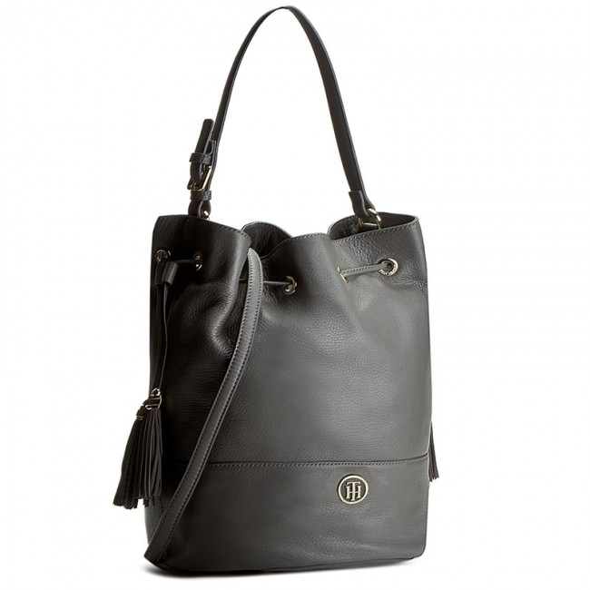 Handbag TOMMY HILFIGER - Tommy Bucket Pebble AW0AW03013  903