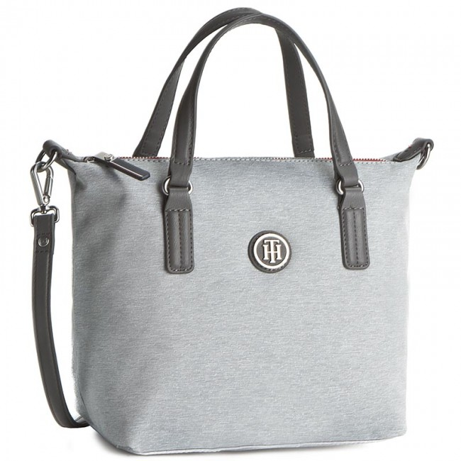 Handbag TOMMY HILFIGER - Poppy Small Tote Melange AW0AW03451 042