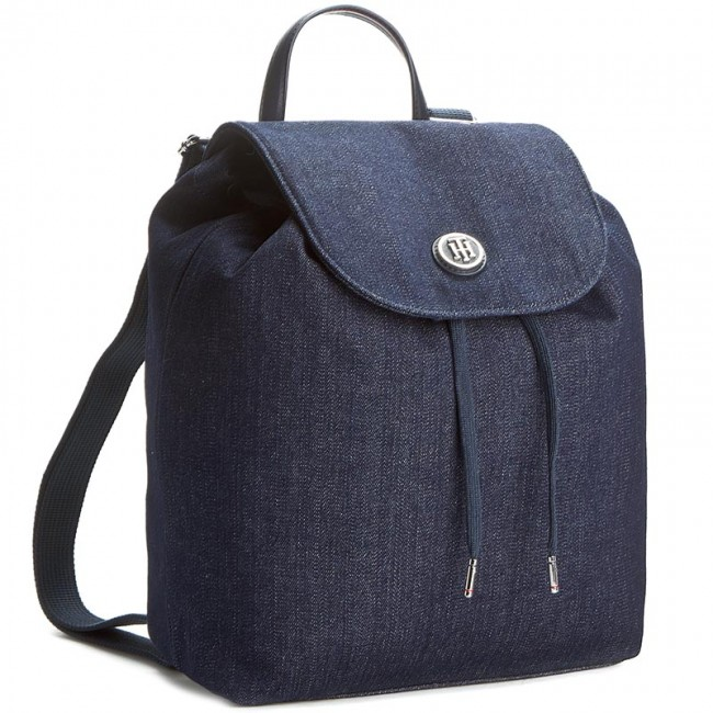 Backpack TOMMY HILFIGER - Poppy Backpack Winter Denim AW0AW03454 901