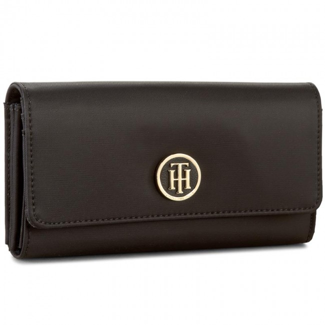 Large Women's Wallet TOMMY HILFIGER - Poppy Large Ew Wallet AW0AW03469 002