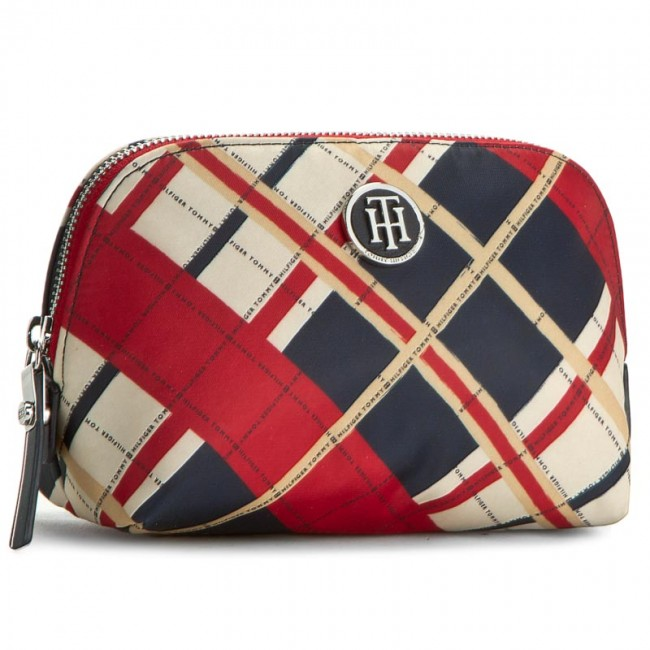 Beauty Case TOMMY HILFIGER - Poppy Make-Up Bag AW0AW03353 901