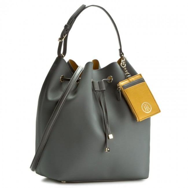 Handbag TOMMY HILFIGER - Love Tommy TH Bucket Solid AW0AW03389 903
