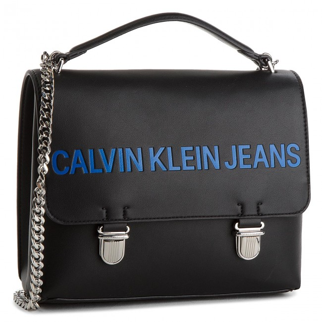 Handbag CALVIN KLEIN JEANS - Sculpted Flap 21 K40K400381 001