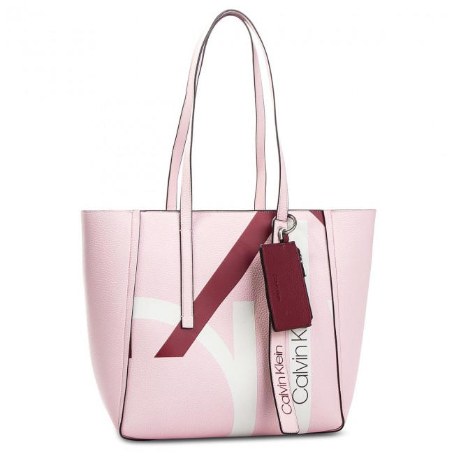 Handbag CALVIN KLEIN Ck Base Medium Shopper Print K60K604667 629