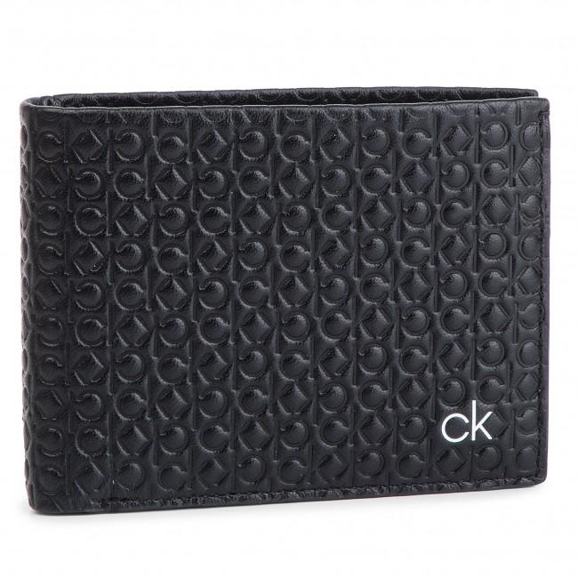 Large Men's Wallet CALVIN KLEIN Ck Allover 5Cc Coin K50K504590 001