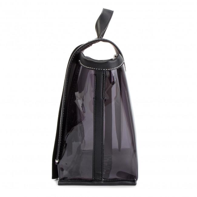 28e4e2d8a266d0 Handbag CALVIN KLEIN - Slide Top Handle Tr K60K605196 001 - Classic ...
