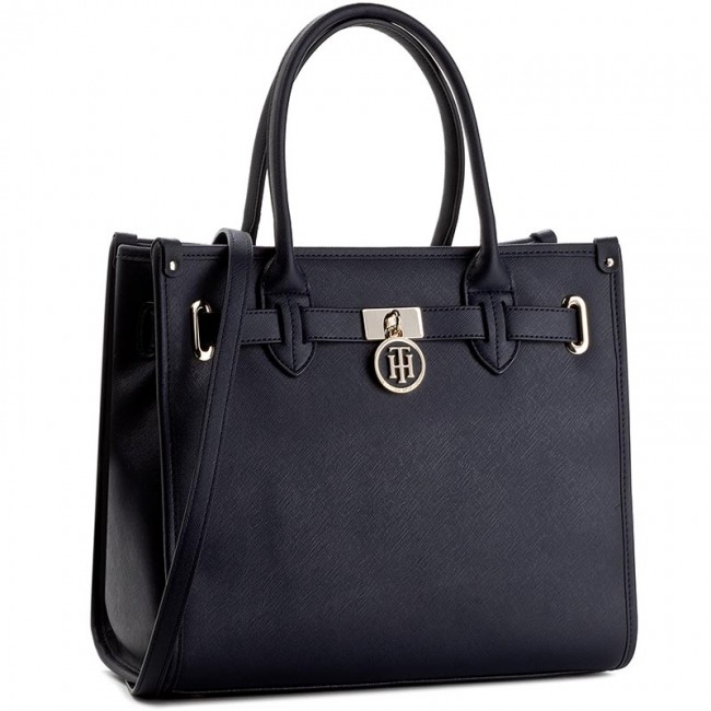 Handbag TOMMY HILFIGER - American Icon Tote Solid AW0AW003694  413