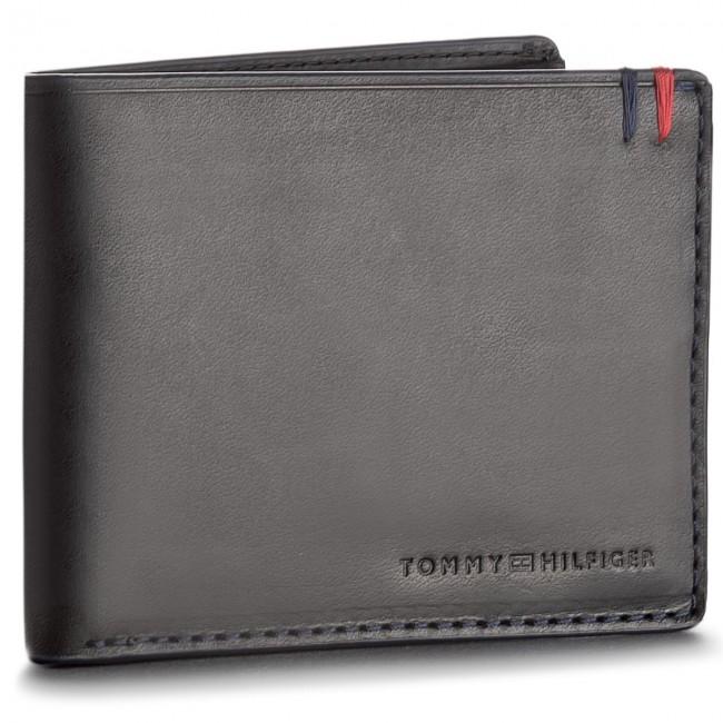 Large Men's Wallet TOMMY HILFIGER - Burnished Mini Cc Wallet AM0AM03059  002