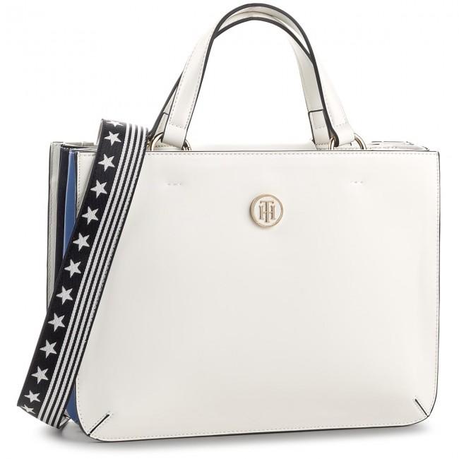 Handbag TOMMY HILFIGER - Youthful Heritage Satchel AW0AW04971 104