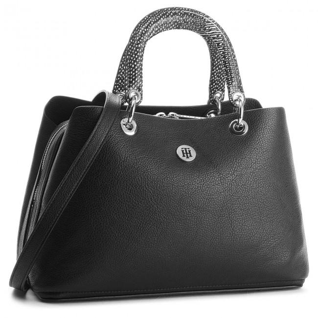 Handbag TOMMY HILFIGER - Th Core Satchel AW0AW05440  002