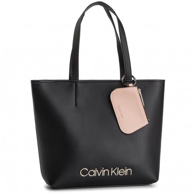 Handbag CALVIN KLEIN Ck Must Med Shopper K60K605481 001