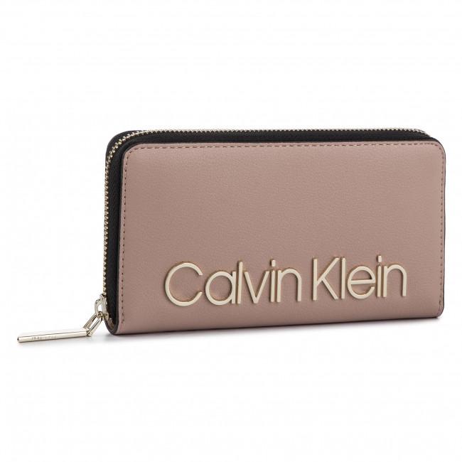 Large Women's Wallet CALVIN KLEIN Ck Must Lrg Ziparound K60K605468 646