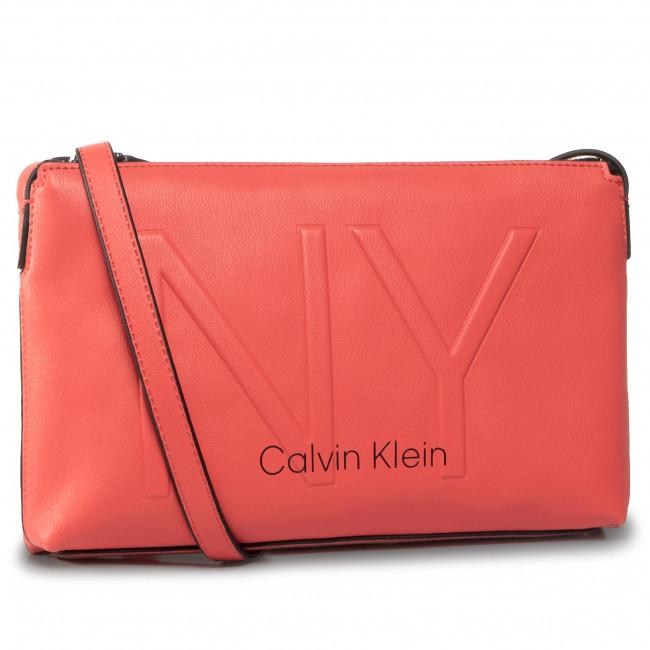 Handbag CALVIN KLEIN - Ny Shaped Ew Crossbody K60K606493 RED