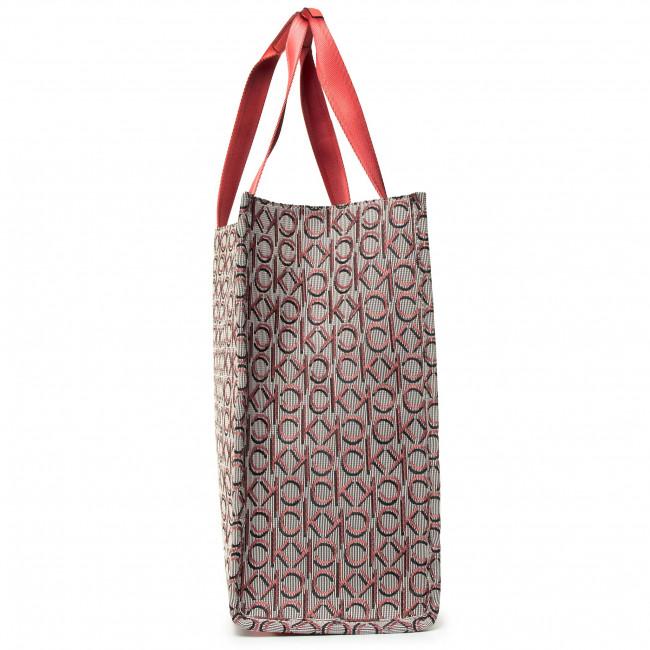Handbag CALVIN KLEIN Stripe Logo Tote Lg Jacq K60K606505 0JX
