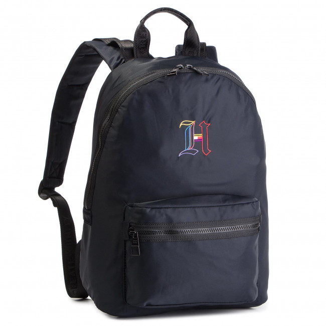 d6ac49ce Backpack TOMMY HILFIGER - Lewis Hamilton Backpack AM0AM04585 002 - Notebook  bags and backpacks - Leather goods - Accessories - efootwear.eu