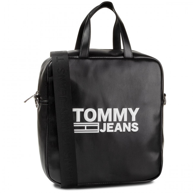 Handbag TOMMY JEANS - Tjw Texture Pu Tote AW0AW07640 BDS