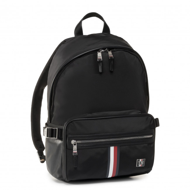 Backpack TOMMY HILFIGER - Clean Nylon Backpack AM0AM05818 BDS