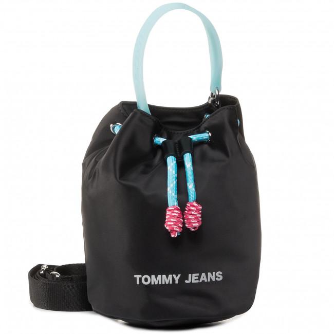 Handbag TOMMY JEANS - Tjw Natutical Mix Sm Bucket Nyl AW0AW08052 0F5