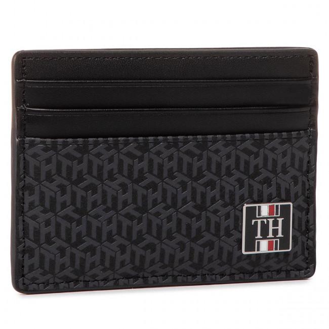 Credit Card Holder Tommy Hilfiger Th Monogram Cc Holder Am0am05849 Bds Credit Card Holder Cases Leather Goods Accessories Efootwear Eu