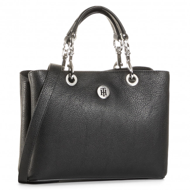 Handbag TOMMY HILFIGER - Th Core Med Satchel AW0AW08516 BDS