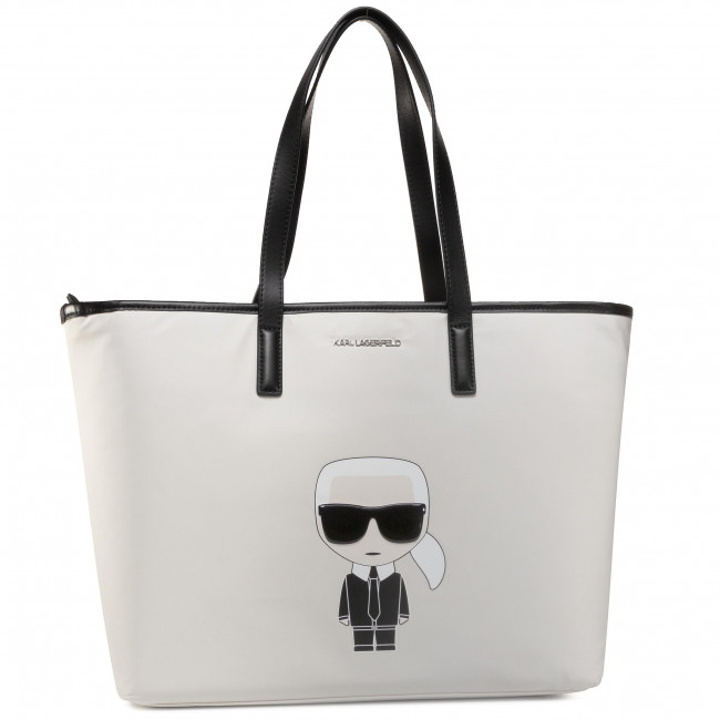 Handbag KARL LAGERFELD - 205W3014  White 100