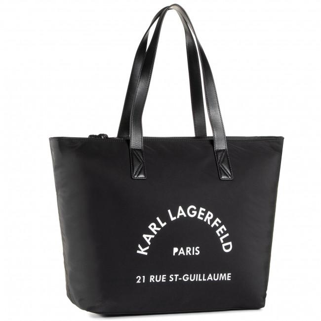 Handbag KARL LAGERFELD - 205W3034 Black