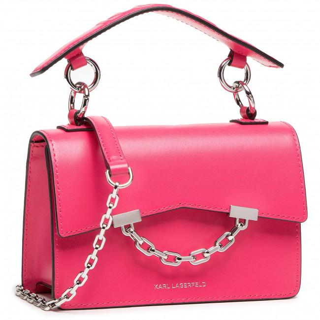 Handbag KARL LAGERFELD - 206W3054 Peony Pink