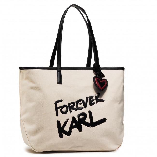 Handbag KARL LAGERFELD - 206W3198 Natural