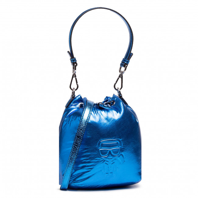 Handbag KARL LAGERFELD - 210W3013 Metallc Bl