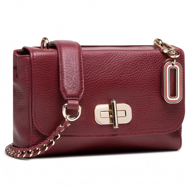 Handbag TOMMY HILFIGER - Soft Turnlock Crossover AW0AW08838 VLP