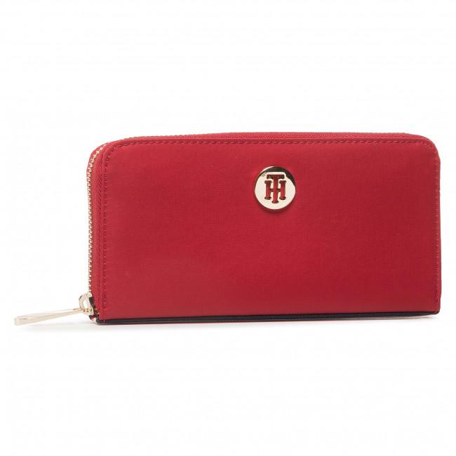 Large Women's Wallet TOMMY HILFIGER - Poppy Lrg Za Corp AW0AW08897 XMP
