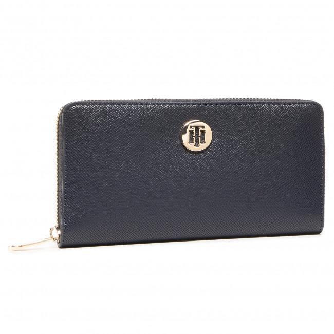 Large Women's Wallet TOMMY HILFIGER - Honey Lrg Za Wallet AW0AW08891 CJM