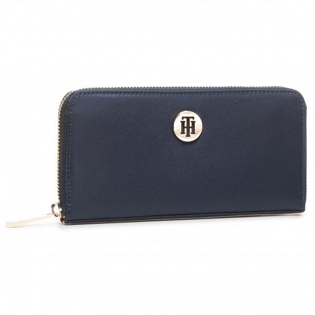 Large Women's Wallet TOMMY HILFIGER - Poppy Lrg Za Corp AW0AW08897 CJM